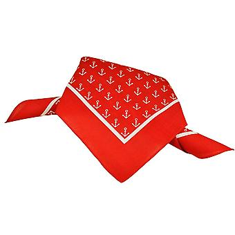 Krawatten Planet rot & weiß Anker Bandana Neckerchief