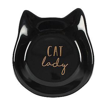 Etwas anderes Cat Lady Schmuck Dish