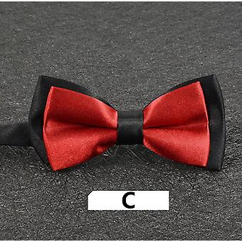 New Fashion Boys Bowtie Cotton Layers Neckwear Adjustable For Party Style Girls