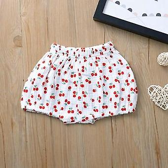 Baby Girls Boys Shorts Newborn Fold Bloomers Girls Pattern Triangle Shorts Toddler Trousers Pp Clothes