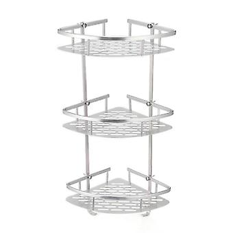 Tier Corner Storage Holder Shelves Bathroom Shampoo Shower Kitchen Storage Rack