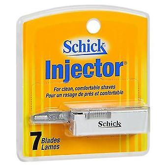 Schick Schick Injektorin terät, 7 kutakin