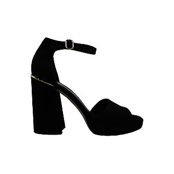 Michael Michael Kors Women-apos;s Shoes Amal Platform Sandal Suede Open Toe Casual...