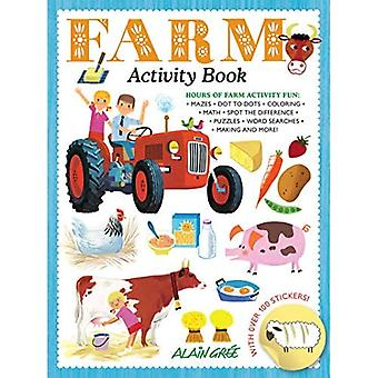 Farm Activity Book (Farm Animal)