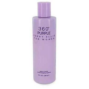 Perry Ellis 360 lila von Perry Ellis Body Lotion 8 Oz (Frauen) V728-551305