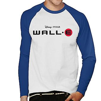 Pixar Wall E Classic Logo Men''s Baseball Long Sleeved T-Shirt