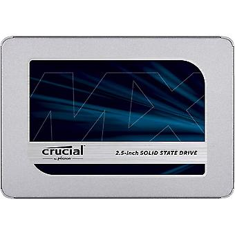 Crucial mx500 500 gb ct500mx500ssd1(z)-up to 560 mb/s (3d nand, sata, 2.5 inch, internal ssd) frustr