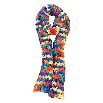 Ivy Mill Crafts UK Hand Made Scarf in Organza Gift Bag - Wild Rainbow