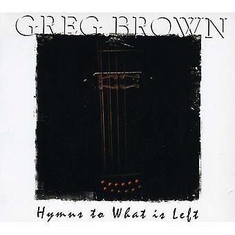 Greg Brown - inni a che cosa è sinistra [CD] USA importare