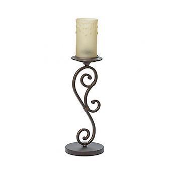 Land Brun bordlampe 1 pære 55 cm