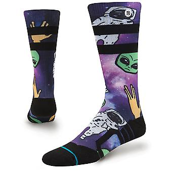 Stance Space Out Kids Lumisukat violetissa