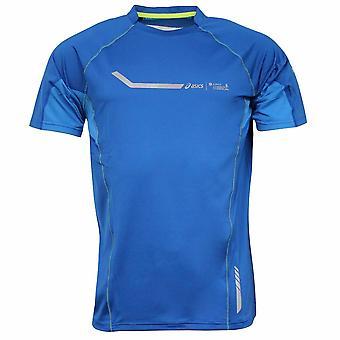 Asics Zurich Barcelona Marathon Mens Running Training Top 331221BM 0843 A7B