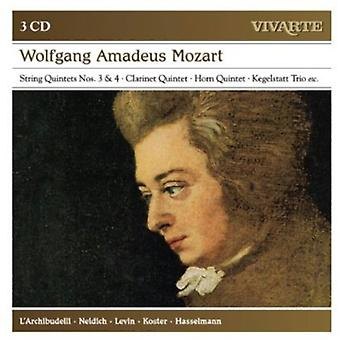 Mozart: A Musical Joke Clarinet Quintet [CD] Us import