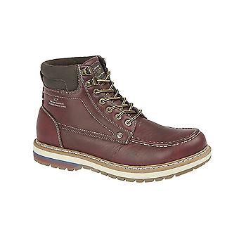 Route 21 Mens PU Ankle Boots