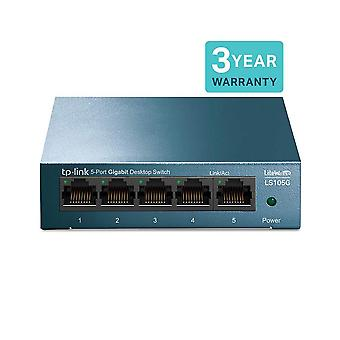 Switch gigabit ethernet desktop/wallmount Tp-link ls105g a 5 porte, splitter Ethernet, plug & play, des