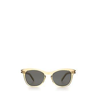 Saint Laurent SL 356 gelb unisex Sonnenbrille