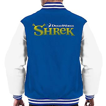 Shrek Logo Men's Varsity Jacket