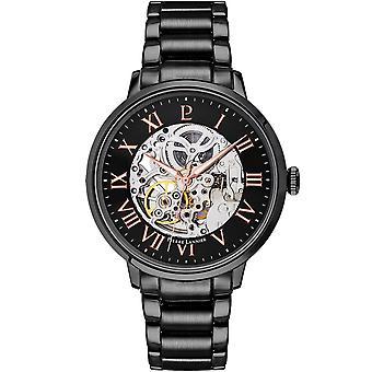 Men's Watches Pierre Lannier Automatic Watches Automatic Black 316D439 - Black Steel Bracelet
