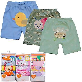 Cotton Cartoon Trousers & Shorts - Casual Bloomers/girls