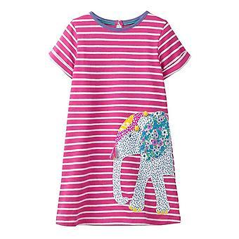 Kleinkind Mädchen gedruckt Partykleid