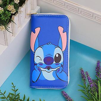 Disney Cartoon, Coin Stitch, Lovely Wallet Card Holder, Clutch Bag