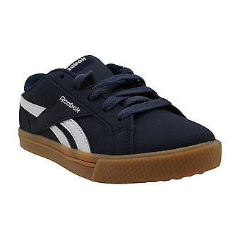 Reebok Boy's Royal Complete Clean Sneaker, Collegiate Navy/White/Gum, 11 M US