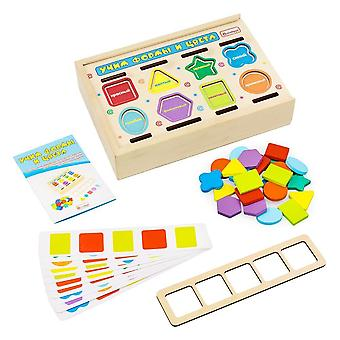 "Alatoys Wooden  Sorter ""Learning shapes and colors"""