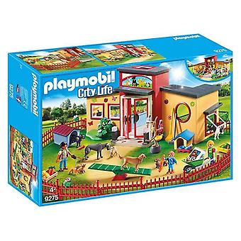 Playset City Life Pets Hôtel Playmobil 9275