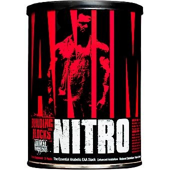 Universal Nutrition Animal Nitro - 30 pack - Anabola EAA Stack Muskelbyggare