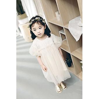 Princesse douce de printemps, robe de concepteur pour le bébé