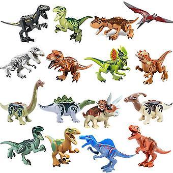 Jurassic Dinosaurussen World Park Raptor Protection Zone Bouwstenen Set