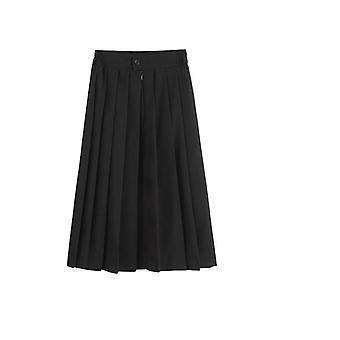 Elastische taille Japanse Student School Uniform Dress