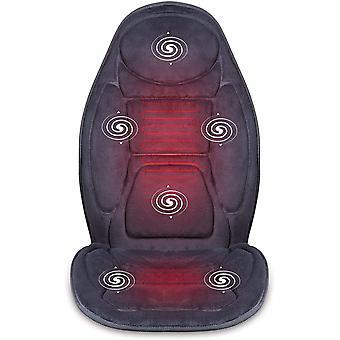 HanFei Massagesitzauflage mit Wrme- und Vibrationsfunktion fr Rckenmassage und Kpermassage zuhause