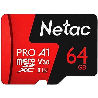 HanFei Netac 128 GB / 64 GB Pro 40M Micro SDXC TF Karte Speicherkarte Datenspeicher V30 / UHS-I U3