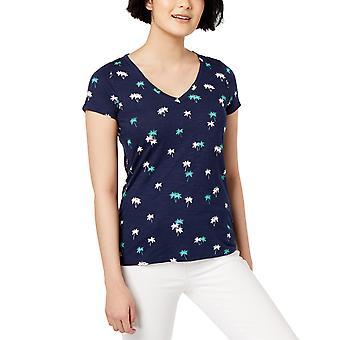 Maison Jules | Printed V-Neck T-Shirt