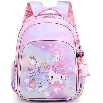 Sac d'école primaire 1-3-6 grade dessin animé KT chat enfants & s sac à dos