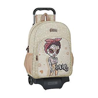 Skol ryggsäck med hjul 905 Catrinas Laura