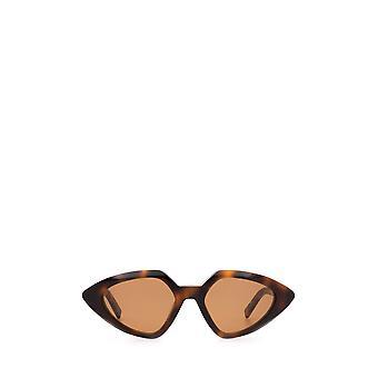 Sportmax SM0005 óculos escuros havana óculos de sol femininos