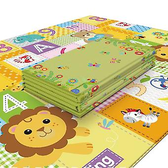 Reversible Foldable Baby Living Room Thickening Play Mat Game Crawling Mat
