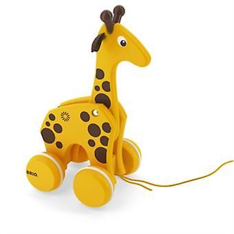 BRIO Pull langs Giraffe 30200
