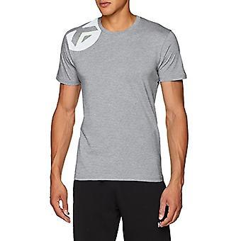 Kempa Core 2.0 - Men's T-shirt, Men's shirt, Oberbekleidung, 200218606, Dark Grey melange, XL