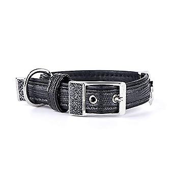 My Family Adjustable Collar in Leather-like Made in Italy Saint Tropez Collection(4)