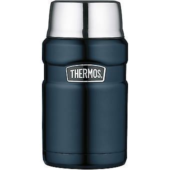 FengChun Thermobehälter für Essen groß Lunchpot Stainless King, Thermogefäß Edelstahl blau 710ml,