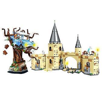Magic Castle Great Hall Building Figure Toys Brain Game Model anime prezenty| Układanie bloków