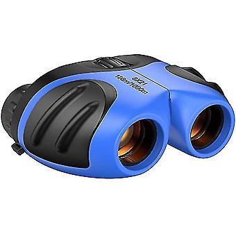 Niebieska kompaktowa lornetka odporna na wstrząsy dla dzieci x4259