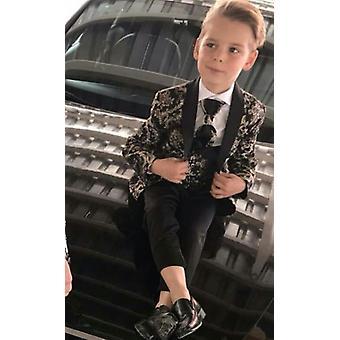 Boy's Suits 3 Pieces Beach Wedding Tuxedos (jacket+pants+vest)