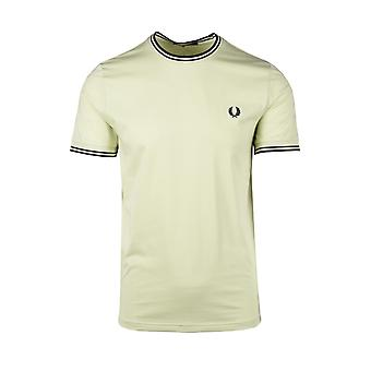 Fred Perry Twin Tippad T-shirt Willow