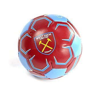 West Ham 4 inch mini zachte bal