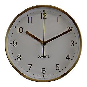 Gold Metal Table Clock