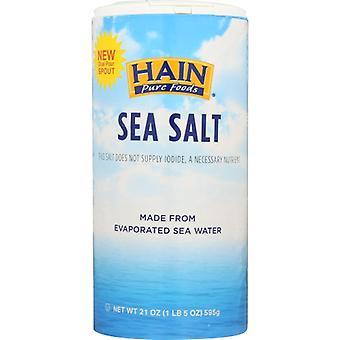 Hain Salt Sea, Case of 8 X 21 Oz